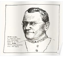 Gregor Mendel Poster