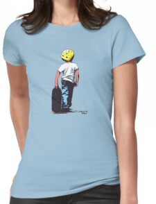 I skate alone ! Womens Fitted T-Shirt