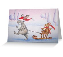 Ring a Bell for Christmas Greeting Card