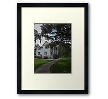 Frampton House SC Framed Print
