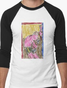 "Drawing: ""Francis Bacon Archive I (2010) (Boxing)"" by artcollect Men's Baseball ¾ T-Shirt"