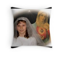 First Communion!  Throw Pillow