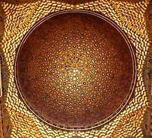 Dome of Salon de Embajadores, Real Alcazar, Seville by Martin Stringer