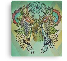 Nature Deer Canvas Print