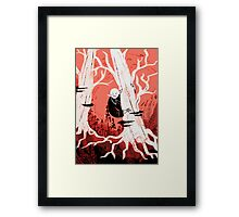 Forest Vampire Framed Print