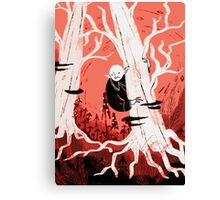 Forest Vampire Canvas Print