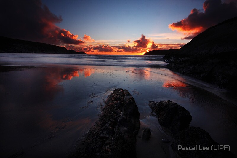 flaming Sky- west cork ireland by Pascal Lee (LIPF)