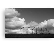 Rural sculpture Canvas Print