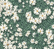 In a bed of daisies by StudioRenate