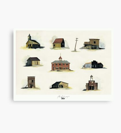 Bodie, California Canvas Print