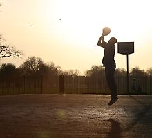 Basketball on Clapham Common by David Routledge by ddlp