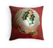 Season's Greetings! Throw Pillow