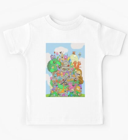 All Kinds of Critters Kids Tee