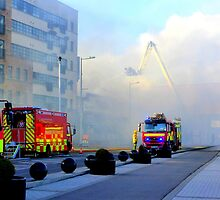 Firemen At Work......................................Derry by Fara