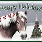 Happy Holidays card  by Michele Simon