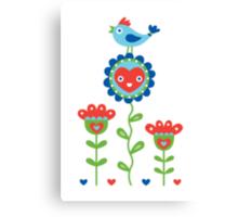 Happy - sweet print - multi Canvas Print