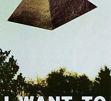 I Want To Believe - Pyramid  by Sebbybeedesign