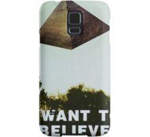 I Want To Believe - Pyramid  Samsung Galaxy Case/Skin