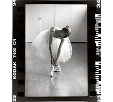 Ballet Slippers Photographic Print