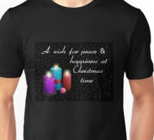 Christmas Candles Unisex T-Shirt