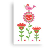 Happy - sweet print Canvas Print