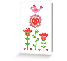 Happy - sweet print Greeting Card