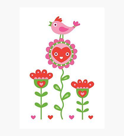 Happy - sweet print Photographic Print