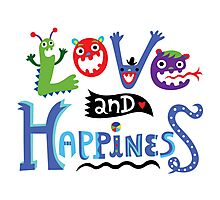Love & Happiness Photographic Print