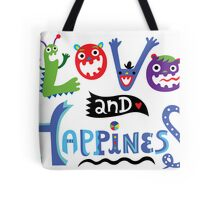 Love & Happiness Tote Bag
