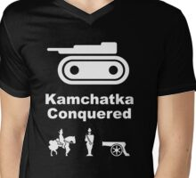 Risiko Kamchatka B/W Mens V-Neck T-Shirt