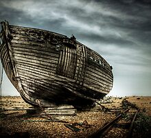 Derelict and Desolate in Dungeness by Steve Payne