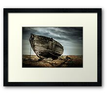 Derelict and Desolate in Dungeness Framed Print