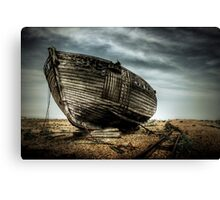 Derelict and Desolate in Dungeness Canvas Print