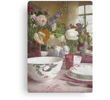 Country Vintage - Cottage No.4 Canvas Print