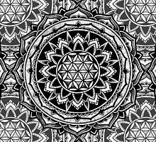 """Valeria"" Sacred Geometry Mandala by zkorvin"
