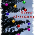 Pine Christmas Tree Decorations  by mandyemblow