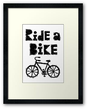Ride a Bike - woody  by Andi Bird
