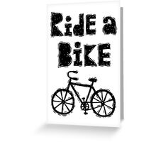Ride a Bike - woody  Greeting Card