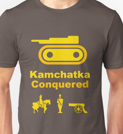 Risiko Kamchatka Yellow Unisex T-Shirt