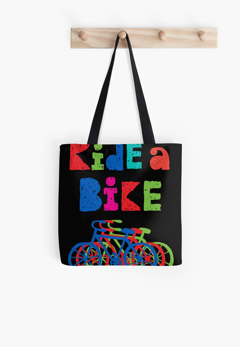 Ride a Bike - sketchy - black by Andi Bird