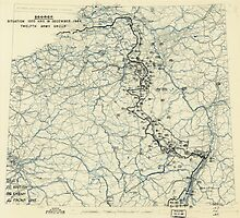 World War II Twelfth Army Group Situation Map December 19 1944 by allhistory