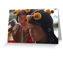beautiful. dharamsala, india Greeting Card