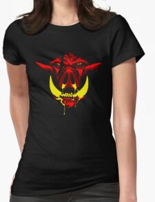 Last Stand in Hell - The Butcher Beast (no logo) Womens Fitted T-Shirt