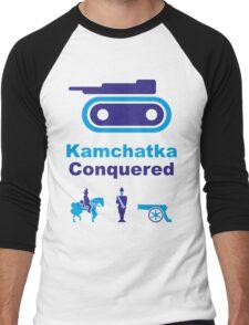 Risiko Kamchatka Blue Men's Baseball ¾ T-Shirt
