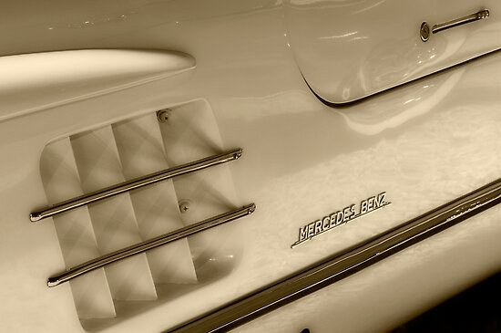 300SL Gullwing by Kurt Golgart
