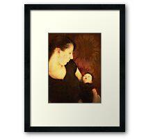 Mother & Child Framed Print