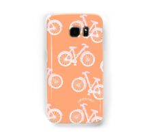 Bicycles - white and pink Samsung Galaxy Case/Skin