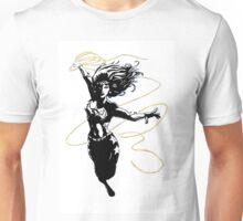 Wondergirl with Flying Lasso Unisex T-Shirt