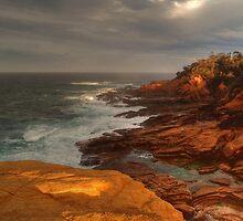 Restless Ocean by David Hunt