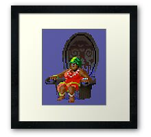 The Voodoo Lady! (Monkey Island 2) Framed Print